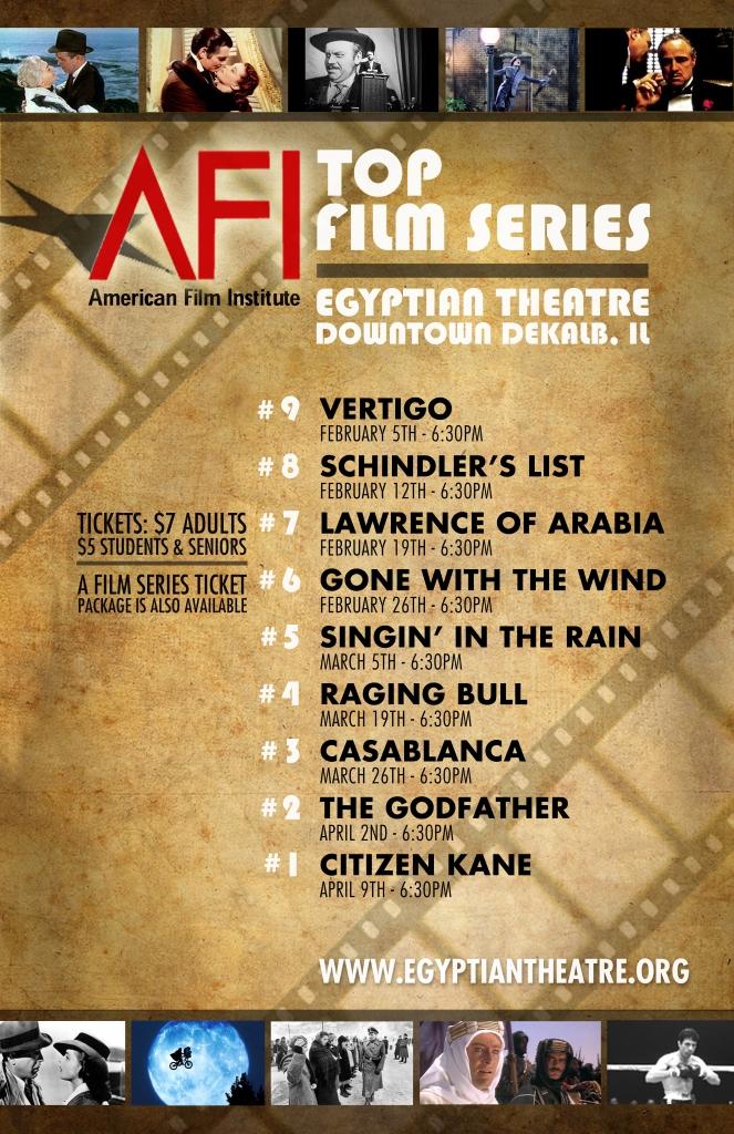 AFI Poster 11x17