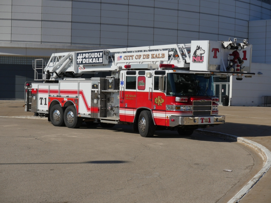 #ProudlyDeKalb Fire Truck
