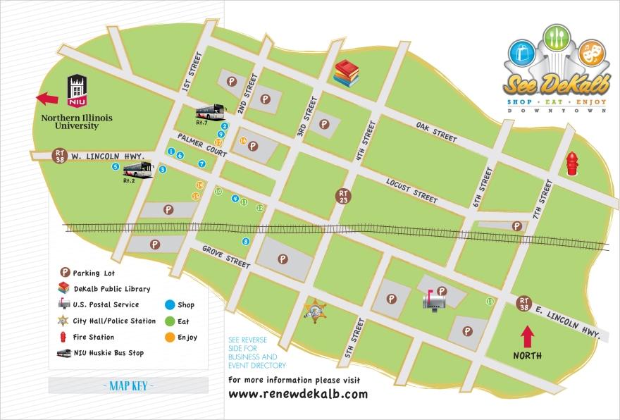 SEE DeKalb Map